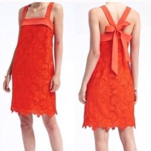NEW Banana Republic Limited Edition orange dress 6